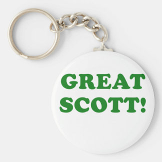 Great Scott Key Ring