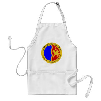Great Seal of Comanche Nation Standard Apron