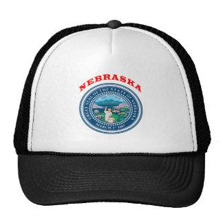 Great Seal Of  State Nebraska Cap