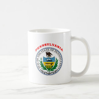 Great Seal Of  State Pennsylvania Coffee Mug