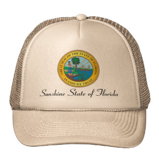 Great seal of the state of Florida Cap