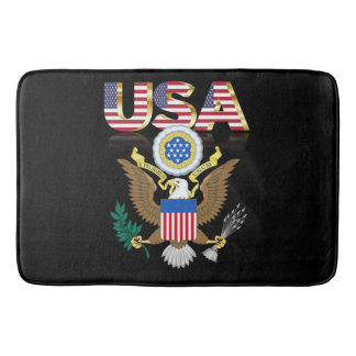 Great seal of the United States Bath Mats