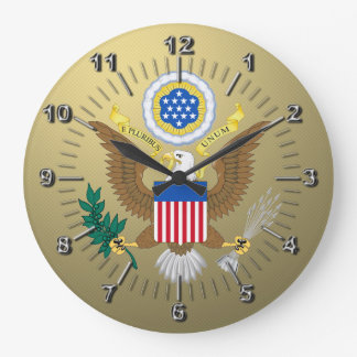 Great seal of the United States Large Clock