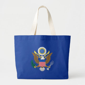 Great seal of the United States Large Tote Bag