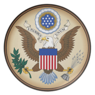 GREAT SEAL OF THE UNITED STATES PARTY PLATES
