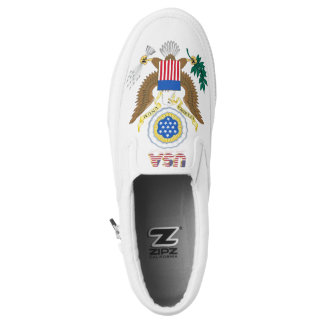 Great seal of the United States Slip On Shoes