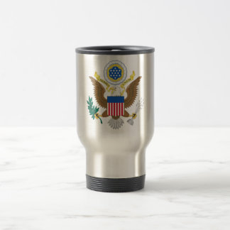 Great seal of the United States Travel Mug