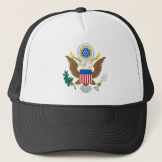 Great seal of the United States Trucker Hat
