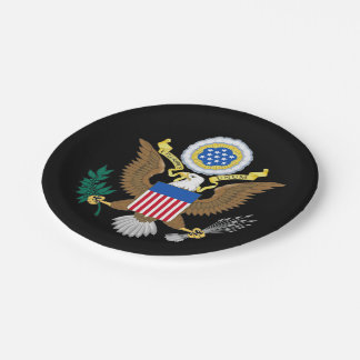 Great seal of United States Paper Plate