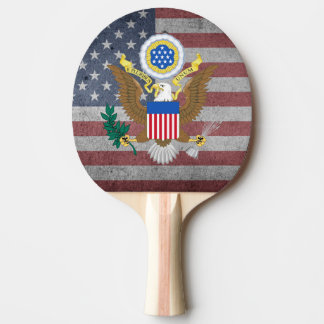 Great seal of United States Ping Pong Paddle