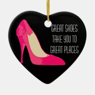 Great Shoes Great Places design ornament