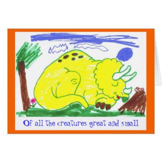 Great & Small by October Card