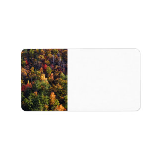 Great Smoky Mountain National Park Address Label