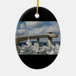 Great Smoky Mountain National Park Ceramic Ornament