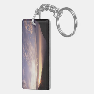 Great Smoky Mountain National Park Rectangle Acrylic Keychains