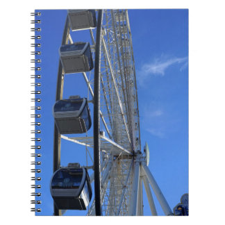 Great Smoky Mountain Wheel Spiral Note Book