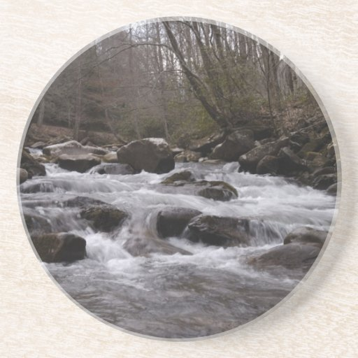 great smoky mountains 2 beverage coasters