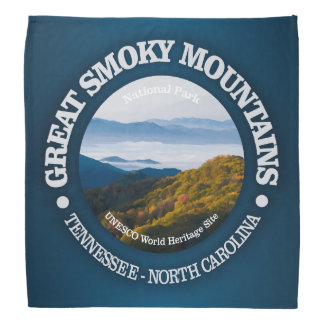 Great Smoky Mountains Bandana