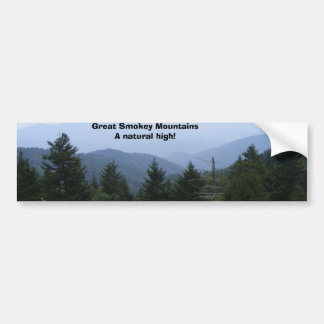 Great Smoky Mountains Bumper Sticker