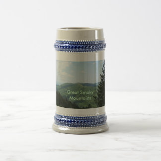 Great Smoky Mountains 18 Oz Beer Stein