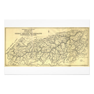 Great Smoky Mountains National Park (1934) Custom Stationery
