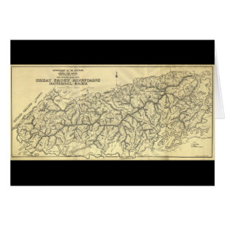 Great Smoky Mountains National Park (1934) Greeting Card