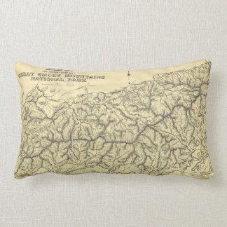 Great Smoky Mountains National Park (1934) Throw Cushion