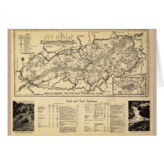 Great Smoky Mountains National Park (1940) Greeting Card