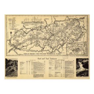 Great Smoky Mountains National Park (1940) Postcard