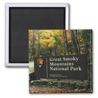 Great Smoky Mountains National Park Autumn Sign Magnets