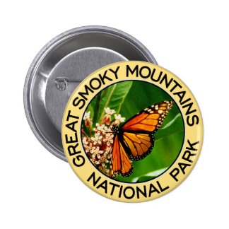 Great Smoky Mountains National Park Buttons