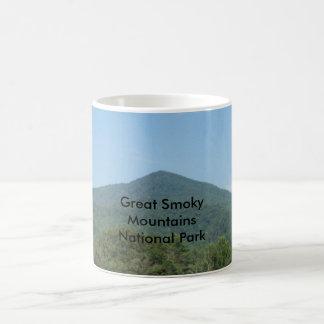 Great Smoky Mountains National Park Basic White Mug