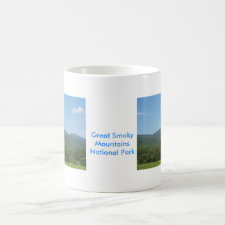 Great Smoky Mountains National Park Basic White Mug