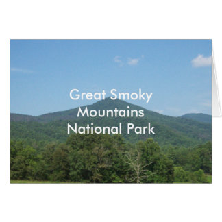 Great Smoky Mountains National Park Card