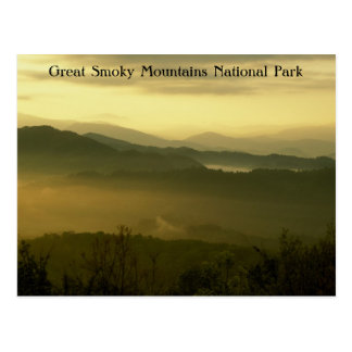 Great Smoky Mountains National Park Dawn Postcard