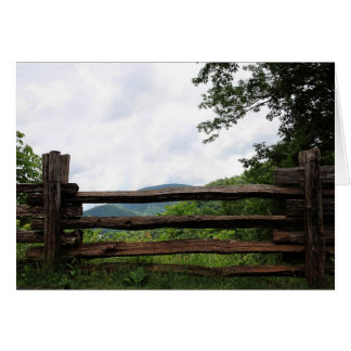 Great Smoky Mountains National Park Greeting Card