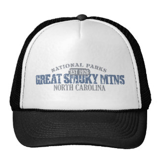 Great Smoky Mountains National Park Trucker Hats