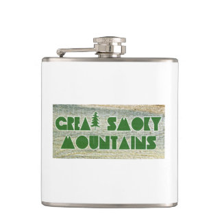 Great Smoky Mountains National Park Hip Flask