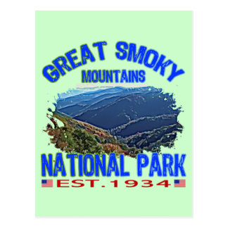 Great Smoky Mountains National Park Postcard