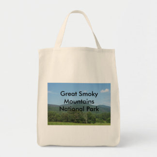 Great Smoky Mountains National Park Grocery Tote Bag