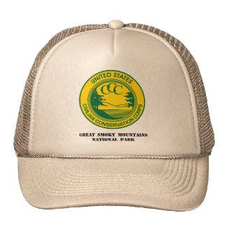Great Smoky Mountains Natl Park Camp NP-1 Co 1214 Trucker Hat
