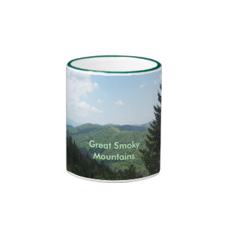 Great Smoky Mountains Ringer Mug
