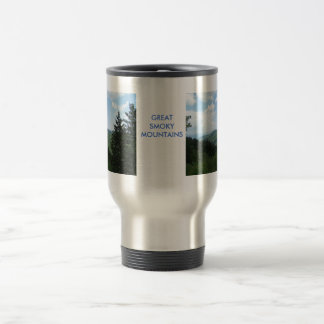 Great Smoky Mountains Stainless Steel Travel Mug