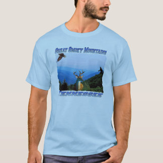 Great Smoky Mountains,Tennessee Adult T-shirt