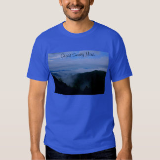Great Smoky Mountains tshirt