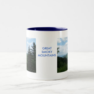 Great Smoky Mountains Two-Tone Mug