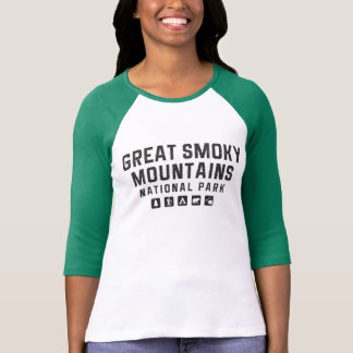 Great Smoky Mountains women's raglan shirt