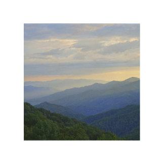 Great Smoky Mountains Wood Wall Decor