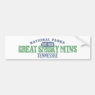 Great Smoky Mtns National Park Bumper Stickers