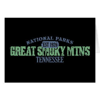 Great Smoky Mtns National Park Card